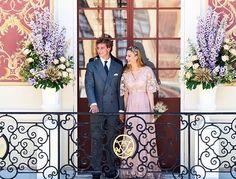 Beatrice e Pierre Casiraghi casamento real Monaco (Foto: Reprodução/Instagram)