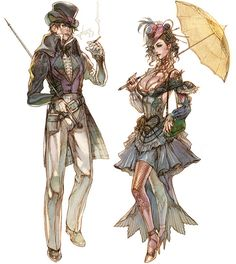 steampunk from Granado Espada