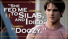 Top 11 Quotes From The Vampire Diaries Season 5... #11