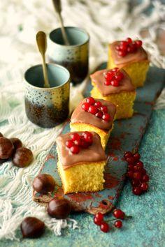 Sweet Gula: Quadrados Fofos de Maizena e Baunilha com Creme de Castanha [receita sem Glúten]