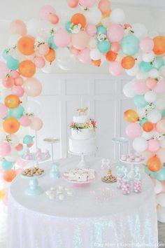 21 Beautiful Balloon Arch Ideas