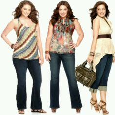 Casual plus size