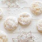 Chewy Lemon Snowdrop Cookies - Wholefully