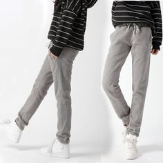 2012 New Arrival Grey Mid Waist Pockets Loose Pants only $32.66 at http://www.wendybox.com/goods-4821-2012+New+Arrival+Grey+Mid+Waist+Pockets+Loose+Pants+.html