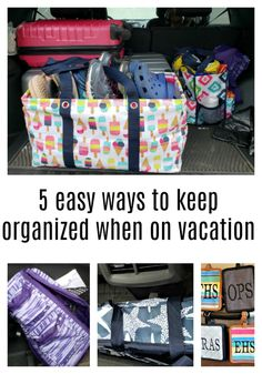 How to avoid overpacking for vacation. Packing travel size toiletries will also help save you packing space and luggage weight too. Maximum benefit from your travel plans using these ideas. Beach Vacation Packing, Florida Vacation, Packing Tips For Travel, Beach Trip, Vacation Trips, Beach Fun, Budget Travel, Road Trip With Kids, Travel With Kids