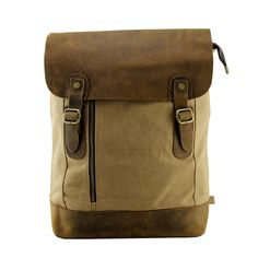 Antique Bag / Backpack / Superior Genuine Cow Leather Briefcase / Messenger Bag / 14' 15' MacBook Bag ( w115 )