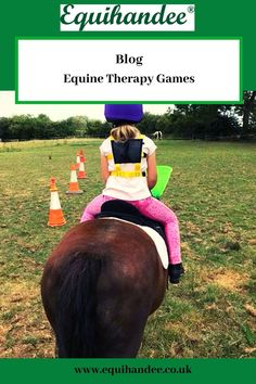 Games on horseback are such fun for everyone, these games can be adapted for all ages and abilities. Horse Riding Games, Horse Games, Horseback Riding Lessons, Horse Therapy, Horse Exercises, Therapy Games, Horses And Dogs, Lesson Planning, Exercise For Kids