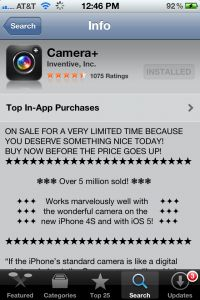 Photography tutorial on using Camera+ app for iphone {Step by step guide} on www.thephotomomma.com