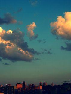 Adoro quando o céu fica assim