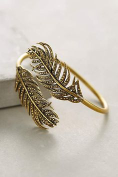 Of A Feather Bracelet - anthropologie.com #anthrofave