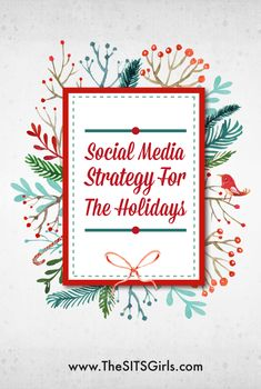 Social Media Tips With a little planning, you can develop a social media strategy for the holiday that will help you keep up with everything you need to do, and still take time to celebrate with your family. Social Media Tips, Social Media Marketing, Marketing Tools, Marketing Strategy Template, Holiday Market, Marketing And Advertising, Digital Marketing, Marketing Quotes, Pinterest Marketing