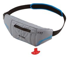 Onyx M-24 Manual Inflatable Belt Pack Life Jacket, Gray *** Read more reviews of the product by visiting the link on the image.