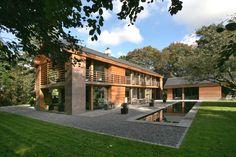 Contemporary cedar house