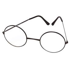 Complete your Harry Potter costume with these spectacles! Thin metal frames with…