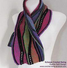 Ravelry: Swing crochet or knitting for beginners pattern by Sophie GELFI Designs