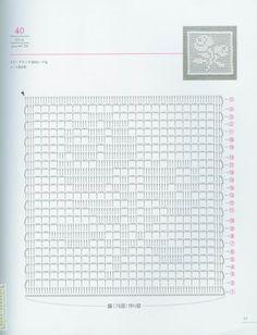 Crochet and arts: Lacework Floral Design Asahi