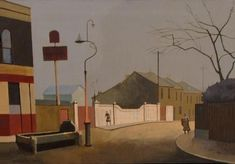 JAMES MACKINNON FROM HACKNEY TO HASTINGS Paintings & Drawings London Fields, Night, 2004, oil on canvas, 40.5 x 30.5cm. Private collection. The painting is London Fields, East End London, White Carnation, Tower Block, London Museums, Through The Window, Triptych, Art School, Painting & Drawing