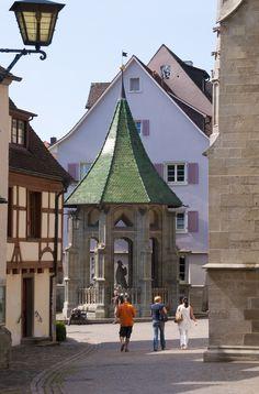 Der Ölberg vor dem Münster in Überlingen, St. Nikolaus . So schön ist der Bodensee