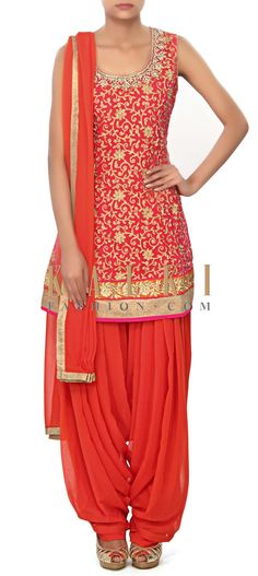 Buy Online from the link below. We ship worldwide (Free Shipping over US$100) Price- $469 Click Anywhere to Tag http://www.kalkifashion.com/pink-gown-embellished-in-kardana-and-zari-embroidery-only-on-kalki.html