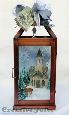 Lisa Hoel – Village Dwelling winter church lantern
