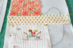 $5 Friday-Handmade Baby Bibs {Quilt-as-you-go} - Simple Simon and Company