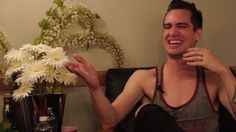 Brendon Urie of Panic! At The Disco Tells the Drunken History of Fall Out Boy.