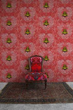 Timorous Beasties Wallcoverings - Imperial Apiary wallpaper
