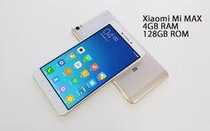 """Xiaomi Mi Max PRO Gold      Especificações   Display de 6,44""""  Processador Snapdragon 652 Octa-core  4GB RAM  128GB ROM  Bateria de 4850 mA..."""