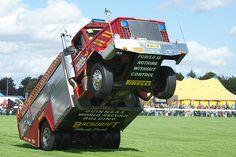 27 years driving firetrucks, but I never quite got a wheelie!