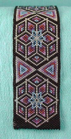 Kalidescope Beaded Bracelet | Flickr - Photo Sharing!