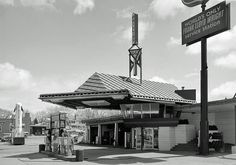 World's only Frank Lloyd Wright Service Station