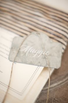 place setting name tag Color Inspiration, Wedding Inspiration, Wedding Ideas, Wedding Name Tags, New Years Eve Weddings, Place Names, Candle Centerpieces, Party Entertainment, Seating Charts