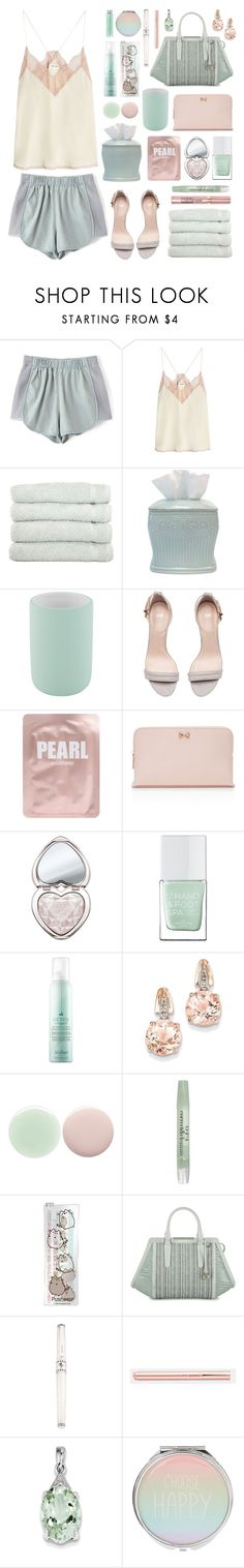 """""""Ready for a Sleepover?"""" by lillyluvs ❤ liked on Polyvore featuring Zadig & Voltaire, Linum Home Textiles, Lenox, Aquanova, Lapcos, Ted Baker, Too Faced Cosmetics, L'Oréal Paris, The Hand & Foot Spa and Drybar"""
