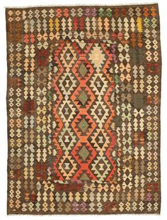 Covor Chilim Afghan Old style 243x179