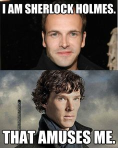No, Johnny Lee Miller, you are not Sherlock Holmes.  Only Benedict Cumberbatch can be the REAL Sherlock!!