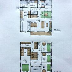 『40坪の間取り』 ・ パントリー兼家事室を充実させた間取りです。 ・ 間取り。間取り。間取り。 ありがとうございます。 ・ #間取り#間取り力 #間取り集 #間取り図 #間取り相談 #間取り図大好き #マイホーム計画#マイホーム計画三重 #マイホーム計画開始 #三重の家 #三重の設計事務所 #三重の住宅 #三重の建築家 #三重の間取り #40坪の間取り#正方形の間取り#総二階の間取り#パントリーのある間取り#家事室のある間取り