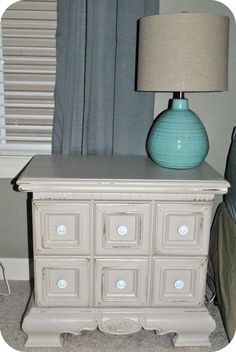 painting furniture - distressed