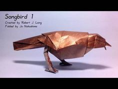 How to make the origami Songbird 1 Designed by Robert J. Lang From the book Origami Design Secrets Presented here by Jo Nakashima with permission of the crea...