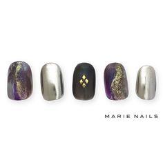 #マリーネイルズ #marienails #ネイルデザイン #かわいい #ネイル #kawaii #kyoto #ジェルネイル#trend #nail #toocute #pretty #nails #ファッション #naildesign #awsome #beautiful #nailart #tokyo #fashion #ootd #nailist #ネイリスト #ショートネイル #gelnails #instanails #marienails_hawaii #cool #fashionista #silver