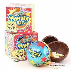 I Remember Loving The Wonder Ball Candy As A Kid. Ooh How I Miss The 90's Sometimes .