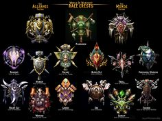 World Of Warcraft Icons by 1j9e8p7.deviantart.com on @deviantART