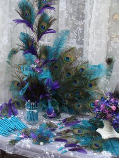 His Royal Majesty Peacock Decoration 50 DEPOSIT by Ivyndell: