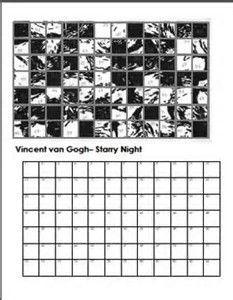 Resultado de imagem para Grid Art Worksheets