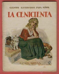 LA CENICIENTA CUENTOS ILUSTRADOS PARA NIÑOS EDITORIAL SOPENA 16 PAGINAS…