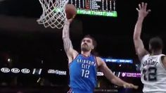 NBA playoff game's crazy ending included a fan grabbing...: NBA playoff game's crazy ending included a fan grabbing Steven… #StevenAdams