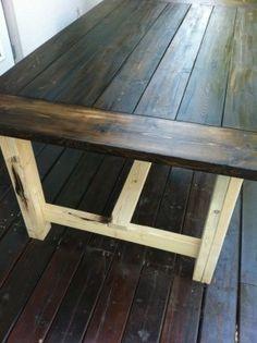 Required Skill Level: Beginner Type of Wood: Pine Finish Used: Minwax Dark Walnut, Semi-Gloss Polyurethane, and Sherwin Williams Aesthetic White