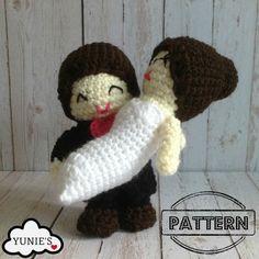 Hey, I found this really awesome Etsy listing at https://www.etsy.com/listing/228510549/crochet-pattern-doll-wedding-amigurumi