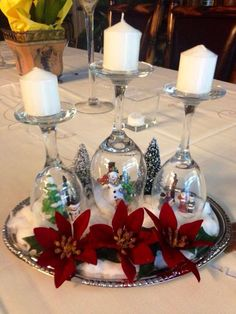 Center piece idea for Christmas
