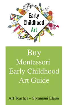 """For the longest time, teachers of early childhood students have been told, """"young kids can't learn art."""" And based on that misinformation, as well as out-of-date art teaching practices, you might be thinking. Montessori Homeschool, Montessori Toddler, Montessori Activities, Art Activities, Toddler Activities, Homeschooling, Early Childhood Activities, Early Childhood Education, Early Education"""