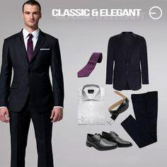 #FashionBySIMAN & Carlos Eduardo Paredes: El negro es un color clásico que no puede faltar en tu guardarropa. Combina perfectamente con cualquier color de camisa.
